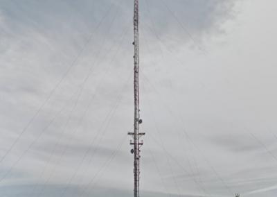 Bubiai 2011 m. Stiebo aukštis – 245,75 m.