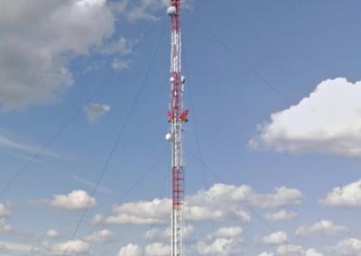 Tryškiai 2013 m. Stiebo aukštis – 118 m.