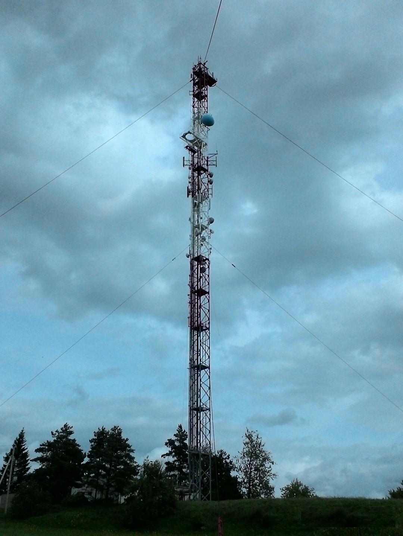 Raseiniai, 2016 m. TV stiebo aukštis – 98 m.